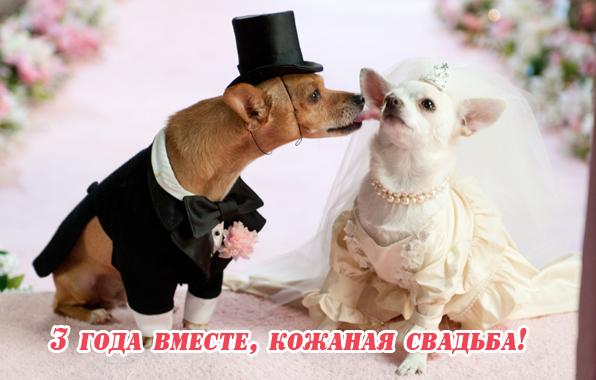 Года вместе кожаная свадьба